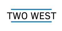 Two West Logo black